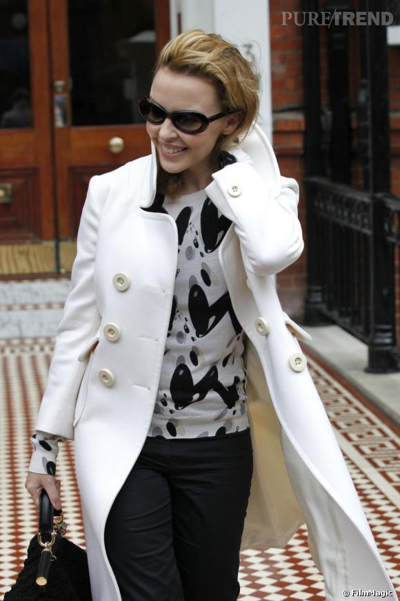 Kylie Minogue à Londres