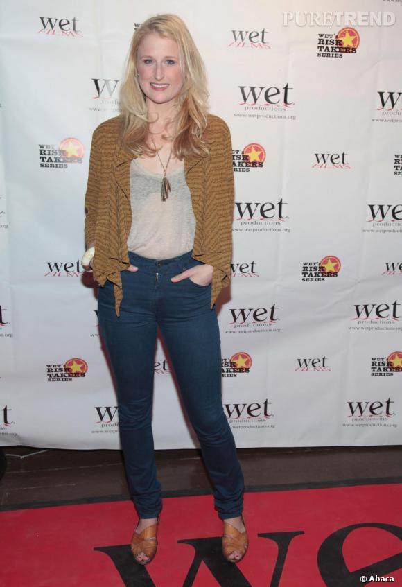 Un look bobo chic pour la fille de Meryl Streep.