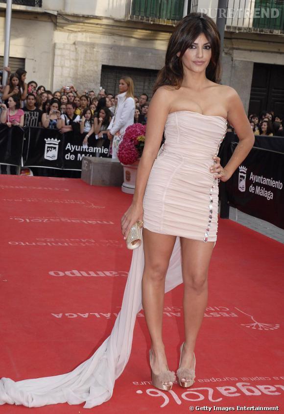 Monica Cruz ultra sexy au festival du film de Malaga