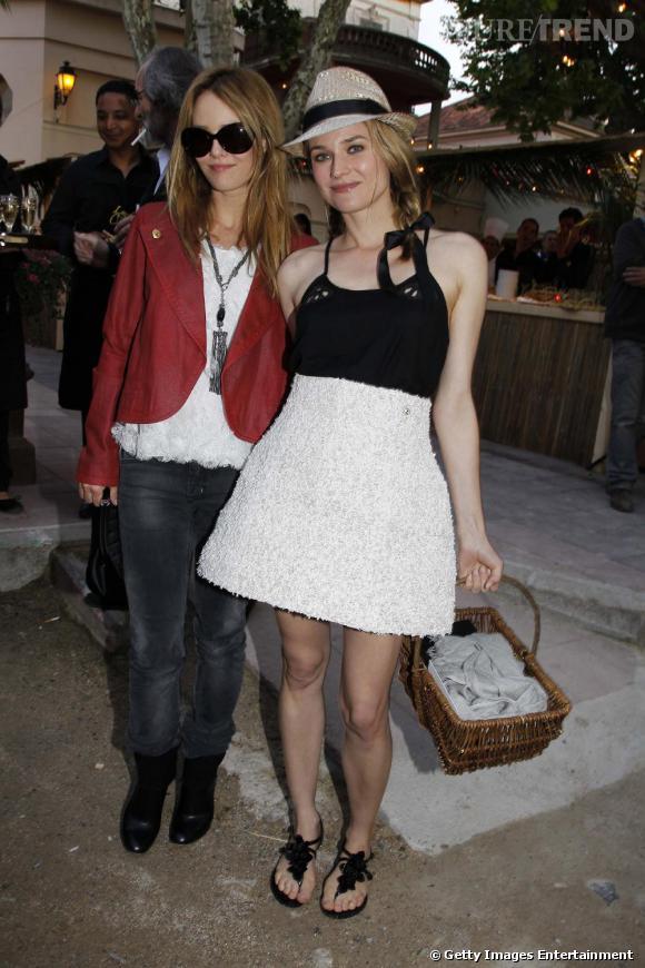 Vanessa Paradis et Diane Kruger, deux belles boulistes !