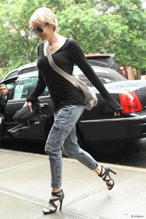 Renée Zellweger dans les rues de New York
