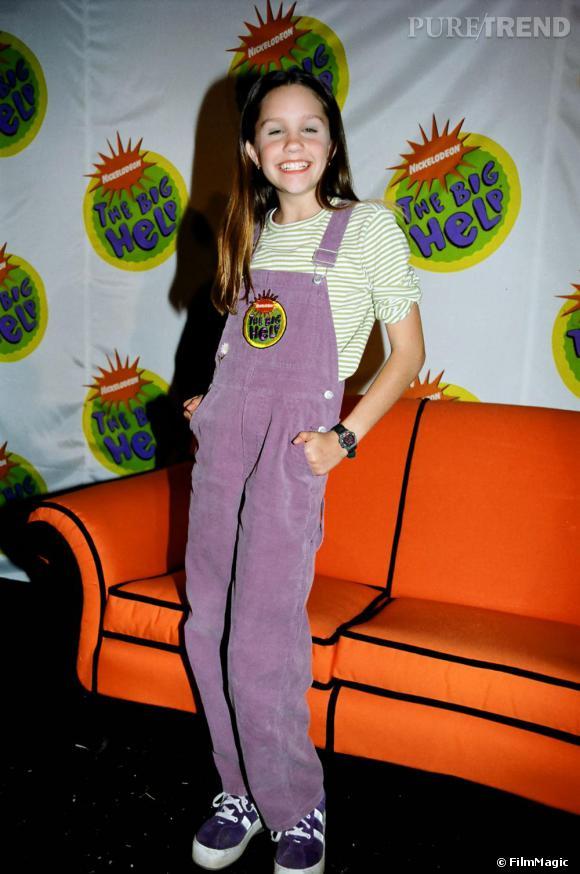 En 1998, la petite Frimousse d'Amanda Bynes s'affiche sur la chaine enfant Nickleodeon, pour la tenue glamour on repassera !