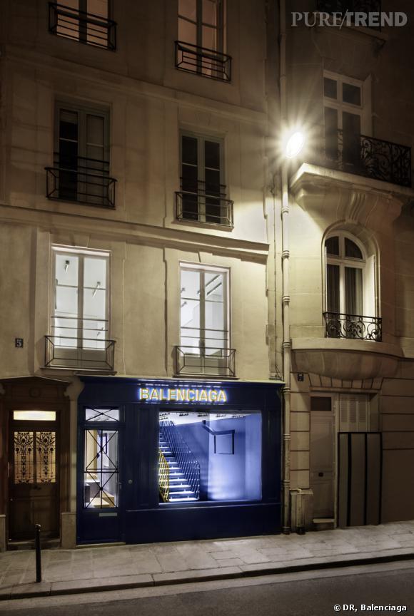 balenciaga boutique paris