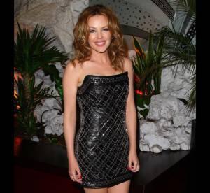 Kylie Minogue Vs Shakira : Qui porte le mieux la mini robe bustier Balmain ?
