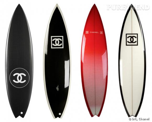 Planches de surf Chanel