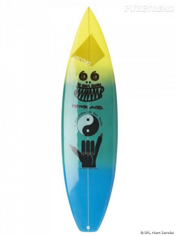 planche de surf marc jacobs puretrend. Black Bedroom Furniture Sets. Home Design Ideas