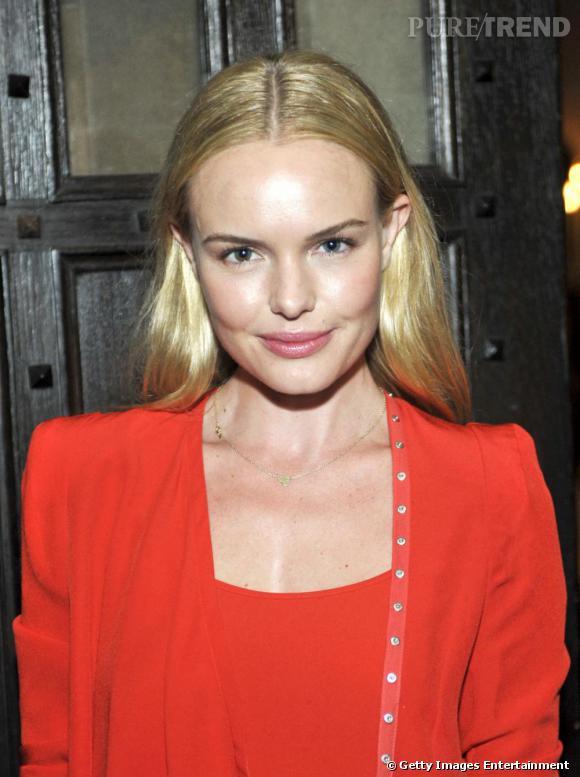 La lumineuse Kate Bosworth au dîner Vanessa Bruno.