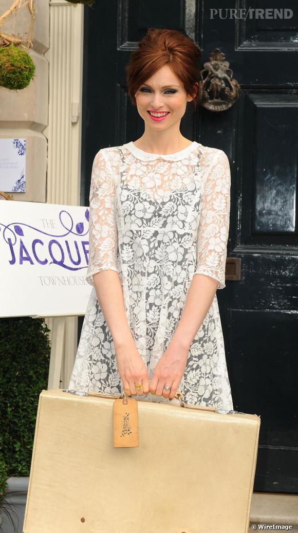 Sophie Ellis Bextor arbore un look rafraîchissant et décalé à l'ouverture du Jacques Townhouse.