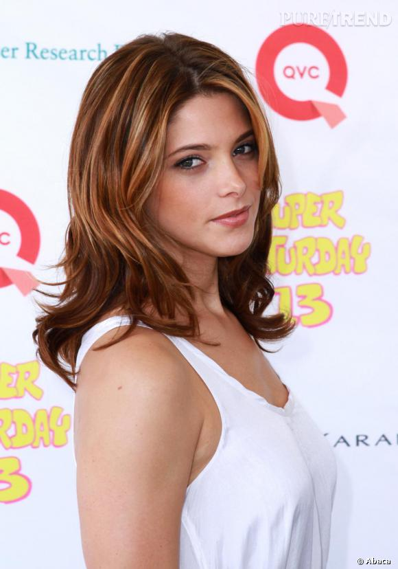 Ashley Greene  illumine le podium.