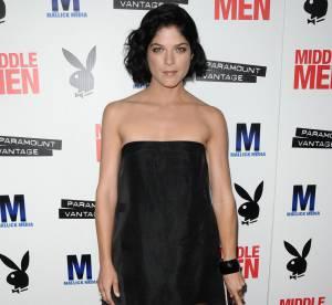Selma Blair adopte la robe cerceau