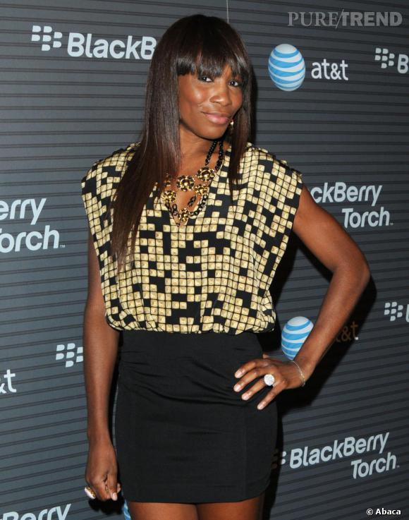 Venus Williams à la soirée BlackBerry à Los Angeles.