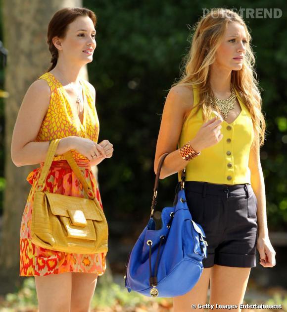 En robe Nanette Lepore, Leighton est un rayon de soleil.