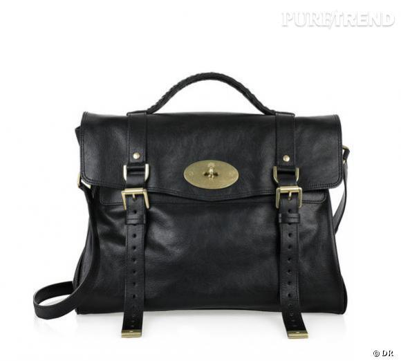 5d76f1913e Sac Alexa en cuir noir, Mulberry Prix : 895 € En vente sur : www