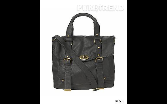 Sac en cuir synthétique, New Look     Prix :  30 €    En vente sur    www.newlook.com