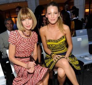 Blake Lively, Leighton Meester et Anna Wintour au premier rang du plus grand défilé de mode à New York