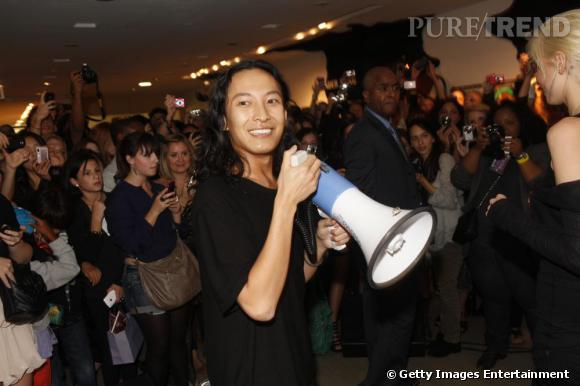 Alexander Wang à la Vogue Fashion Night de New-York.