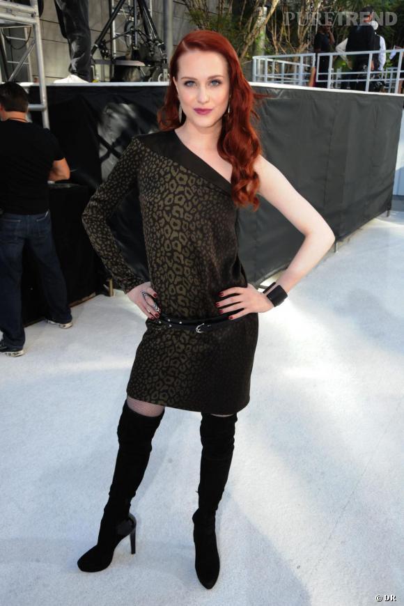 Même si l'actrice Evan Rachel Wood choisit une robe Gucci, elle opère une association digne de Julia Roberts période Pretty Woman. Comme quoi la griffe n'évite pas le faux pas.