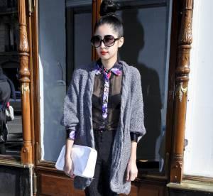 Street Style parisien : un look arty glam'
