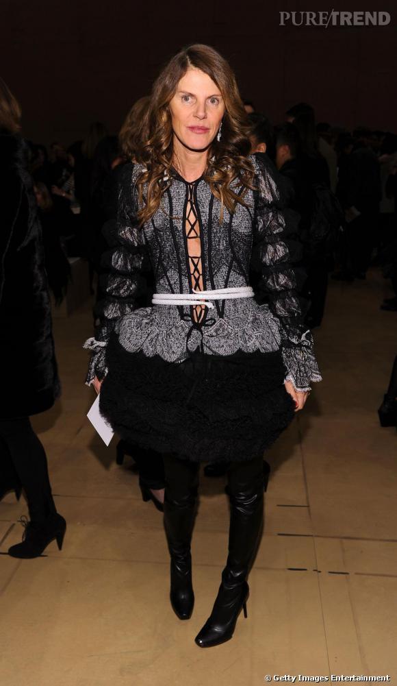Anna dans une création Worth Couture Printemps/Été 2010.