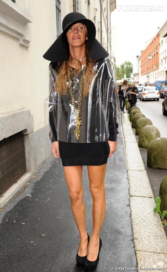 La tenue de pluie selon Anna, originalité et chic à l'italienne.