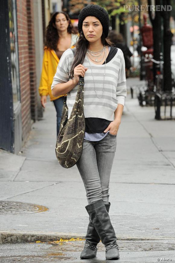 Finalement le look de Jessica est semblable à celui de Vanessa, très loin des tenues griffées et ultra coordonnées de Blair !