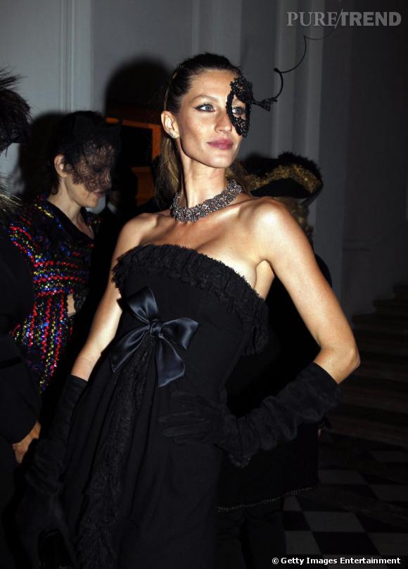 Gisèle Bundchen, raffinée et sublime.