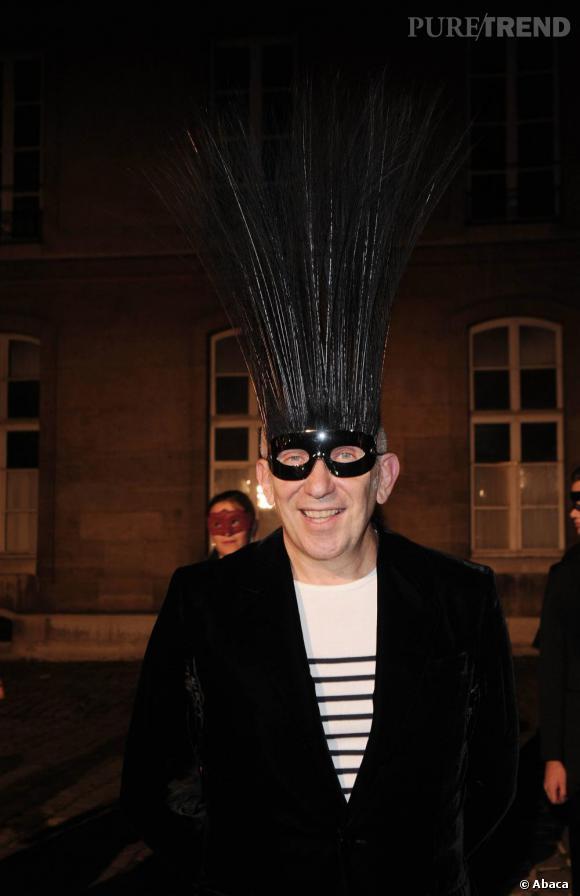 Toujours aussi décalé : Jean Paul Gaultier.