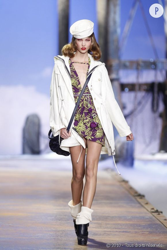 Défilé Christian Dior - Alexander - Paris Printemps Eté 2011