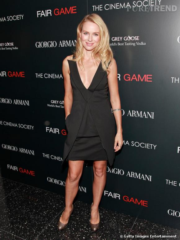 Naomi Watts lors de la projection de Fair Game à New-York.