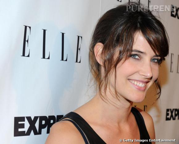 La belle Cobie Smulders et son sourire devenu mythique dans la série How I Met Your Mother.