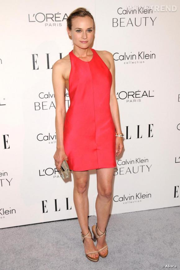 Diane Kruger à la soirée Elle Women in Hollywood Tribute à Los Angeles.