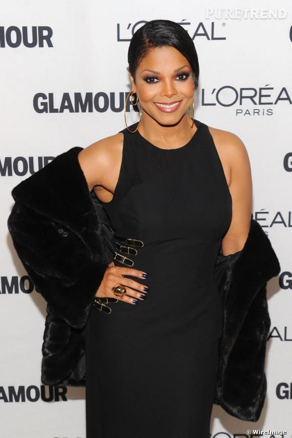 Janet Jackson aux Glamour Women of The Year Awards à New York.