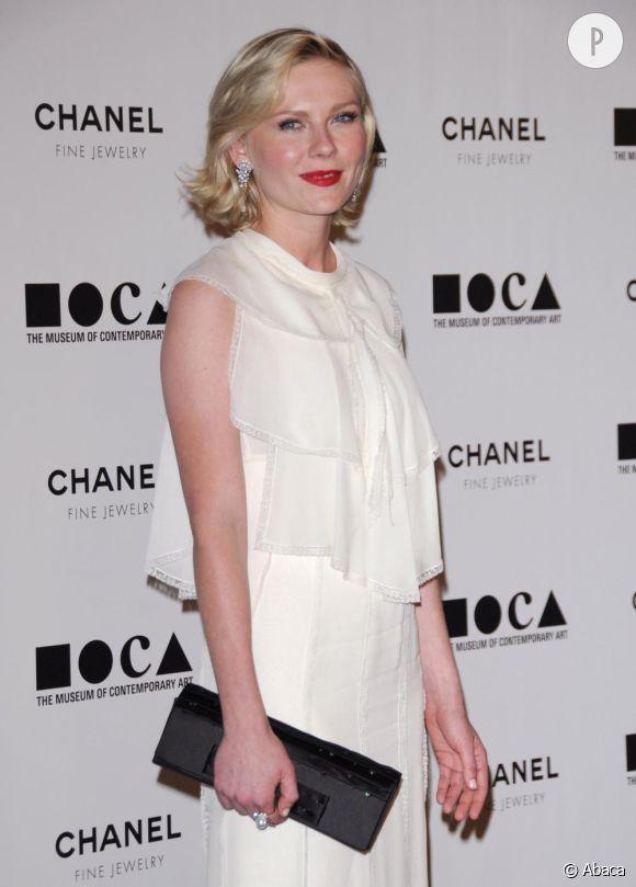 Kirsten Dunst au gala annuel du MOCA à Los Angeles.