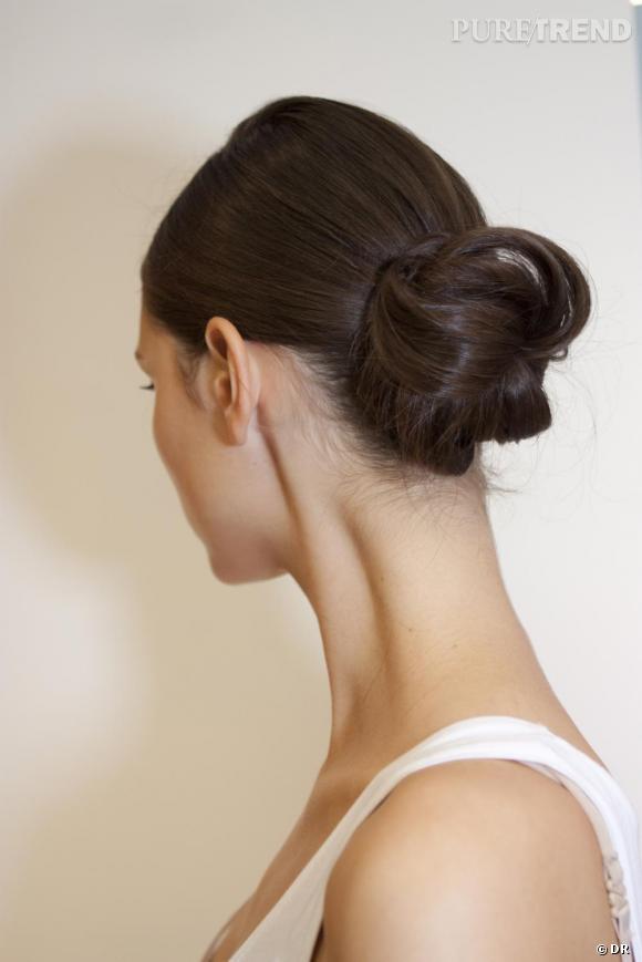 Les coiffures de l'Hiver 2011      Les chignons :    La ballerine effeuillée...