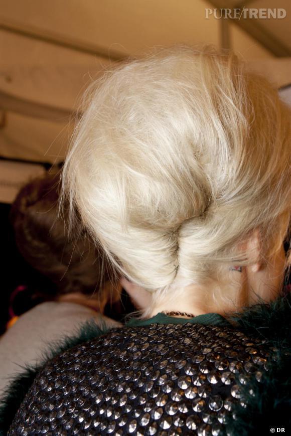Les coiffures de l'Hiver 2011      Les chignons :   Soufflé capillaire...