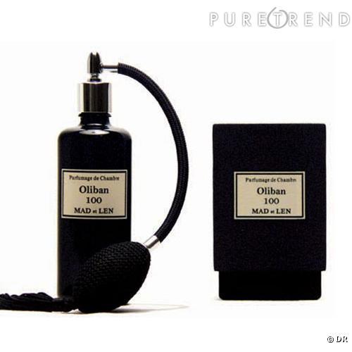 parfum de chambre oliban mad et len de l 39 oliban pur pour