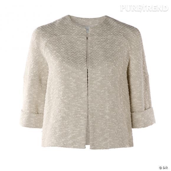 Veste Mango La petite veste qui flirte avec le style Bernadette ... 2c823330d105