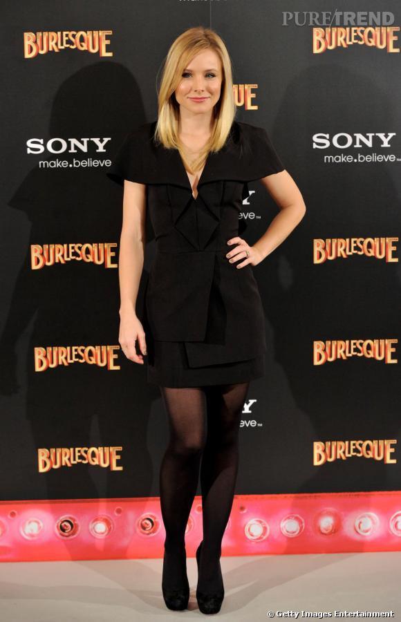 L'actrice était divine en robe Brian Reyes.