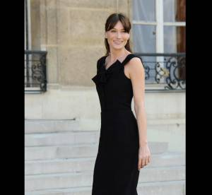 Carla Bruni Vs Amy Adams : la robe noire Christian Dior