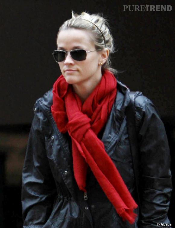 Reese Witherspoon dans les rues de Los Angeles.