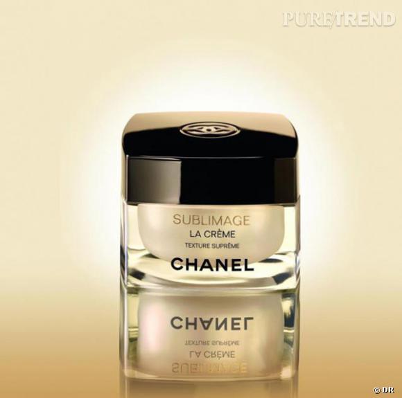 Crème Sublimage, Chanel       La petite dernière de la gamme Sublimage, pour garder son éclat en un geste.    Prix : 275€ le pot de 50g.
