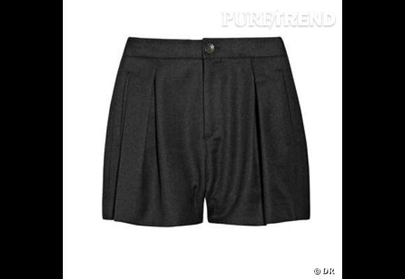 Short Rag & Bone       Un short en hiver, sa résolution de la saison.    Prix : 250€     En vente sur    www.net-a-porter.com