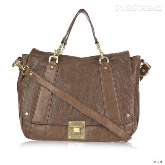 Sac Dayton Messenger, Tory Burch       Un sac cartable pour dame, prêt à accueillir toute sa vie.    Prix : 495€     En vente sur    www.net-a-porter.com
