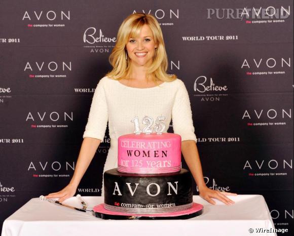 """Reese Witherspoon au """"Avon World Tour"""", à Atlanta."""