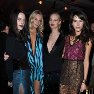 Vanessa Traina, Poppy Delevigne, Lauren Santo Domingo et Caroline Seiber, un quator de it-girls.