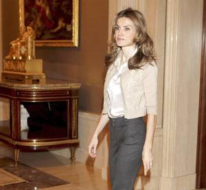 Letizia Ortiz, princesse de satin