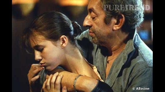 Charlotte et Serge Gainsbourg, la fusion père/fille.