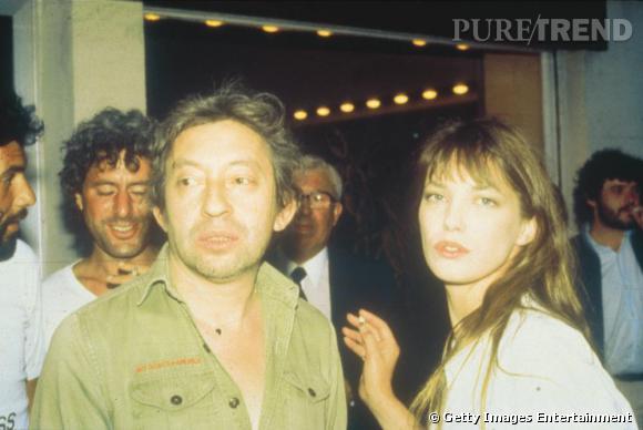 Serge Gainsbourg et Jane Birkin, deux personnages mythiques et atypiques.