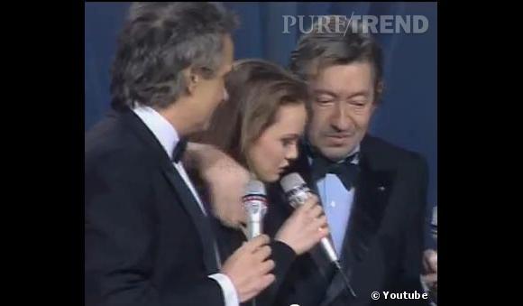 Une des dernières apparitions de Gainsbourg aux côtés de Vanessa, très émouvante.