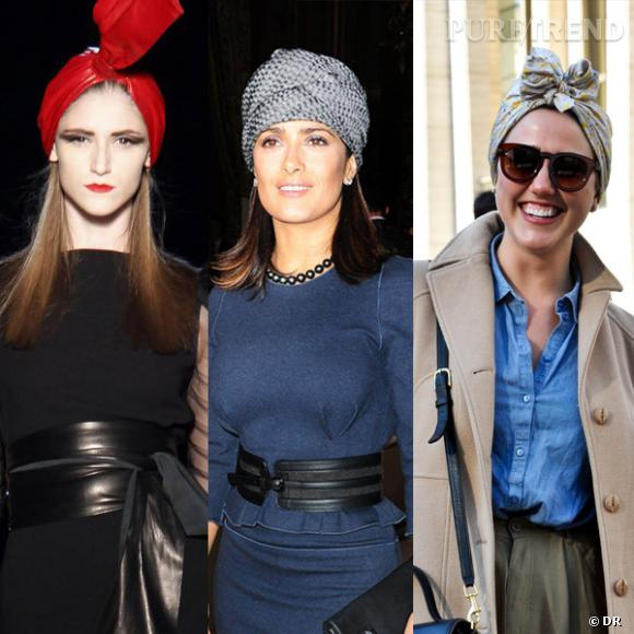 Des podiums à la rue : le turban.